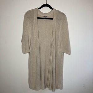 J. Jill Sweaters - J.Jill silk/linen open front cardigan sweater